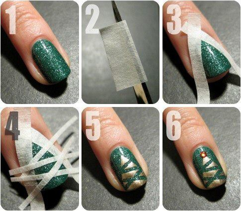 Christmas Nail Art Designs Tutorial