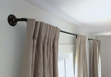 Homemade Curtain Rods Ideas