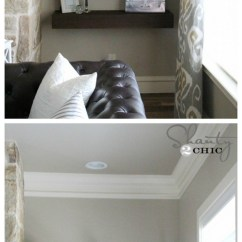 Diy Floating Shelves For My Living Room Decorating Rooms With Brown Leather Couches 27 Of The Best Ideas Home Decor