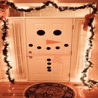 16 budget friendly DIY Christmas door decorations  Diy ...