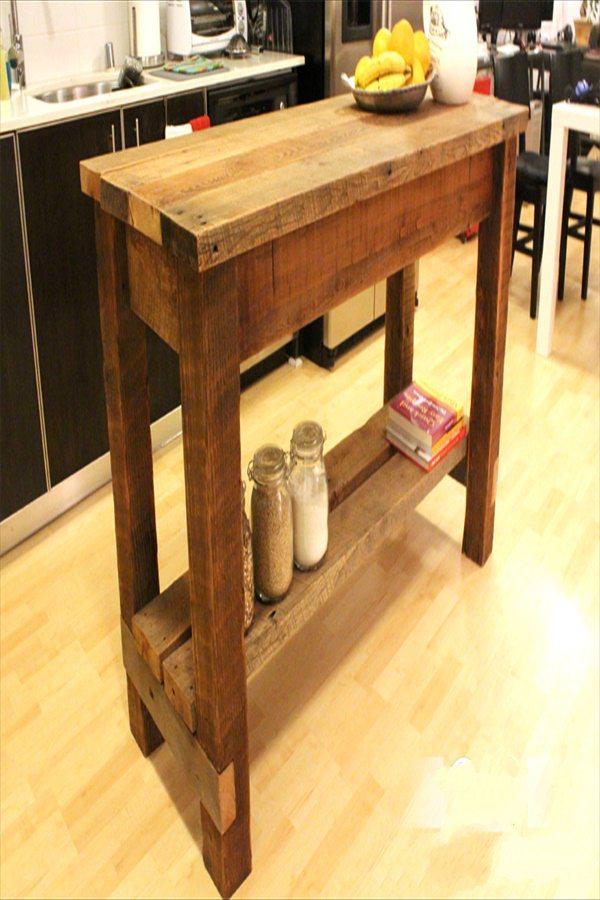 Rustic Kitchen Cart