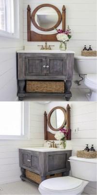 Diy Rustic Bathroom Vanities