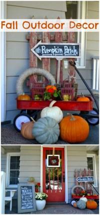 20 Amazing DIY Fall Porch Decor Ideas  DIY Home Decor