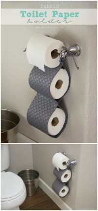 DIY Toilet Paper Holder Ideas - Add Decor To Bathroom ...