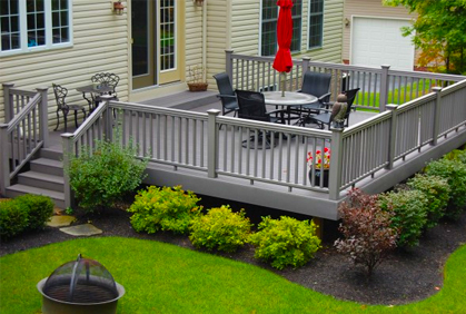 top composite decking
