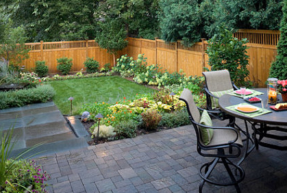 small backyard design - landscape