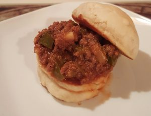Sloppy Doe aka Venison Sloppy Joe