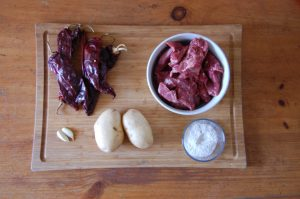 carne con chile ingredients