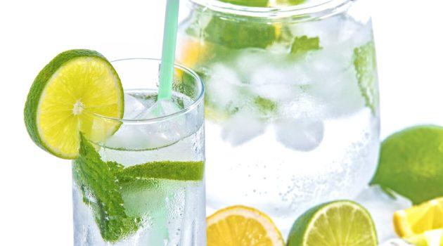 Lemon Lime Infused Water