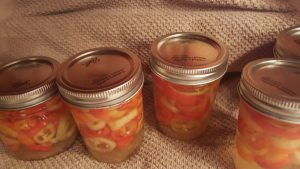home canning banana peppers