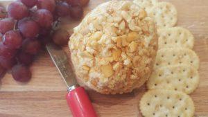 Carolina Cajun Peanut Cheeseball