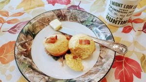 Maple Bacon Corn Muffins