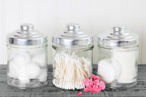 glass jar diy home decorating