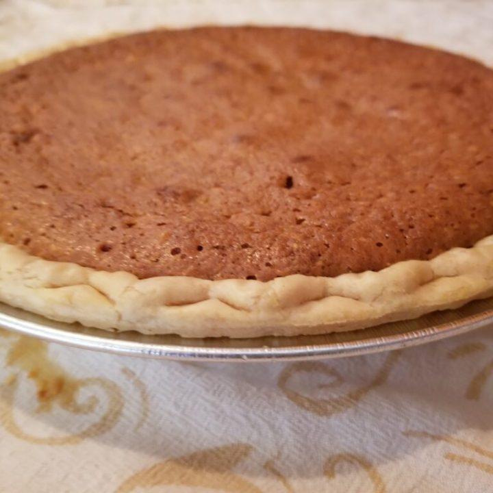Peanut Pie (featuring non-GMO peanuts)