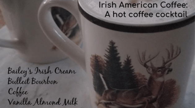 Irish American Coffee Cocktail