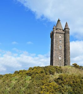 Glendalough tower Ireland