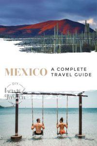 Mexico travel pin