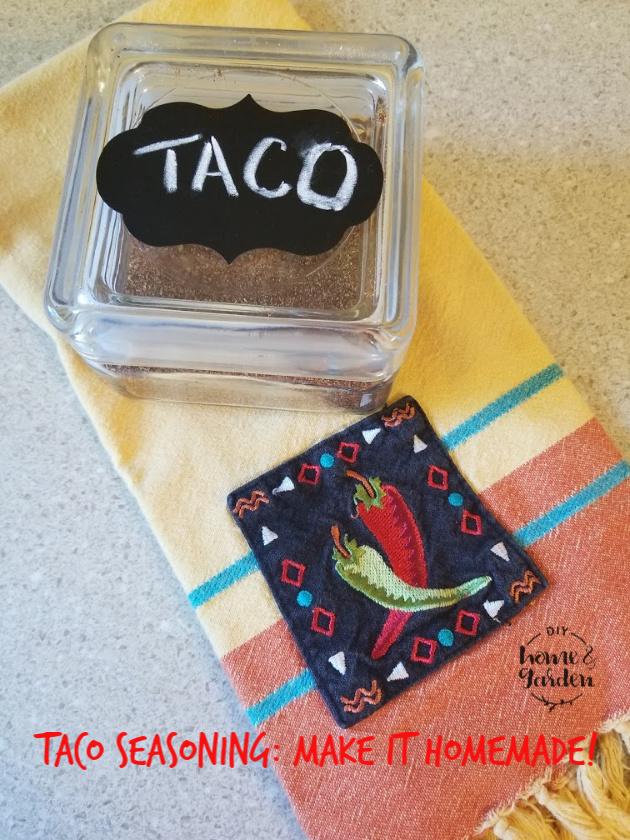spice blend tacos