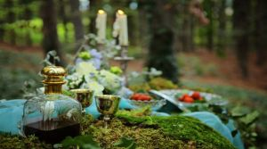 tablescape outdoor