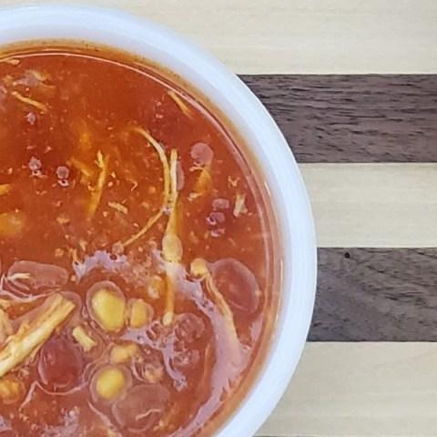 savory chicken soup