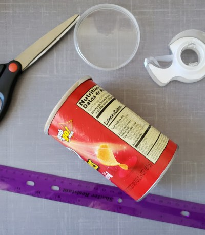 pringle can first aid kit