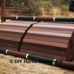 Diy How To Make A Roll Top Horse Jump Diy Horse Ownership