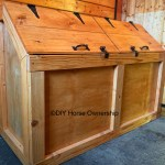 Diy Feed Bin A Step By Step Guide To Making Your Own Wooden Horse Feed Bin Diy Horse Ownership