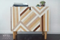 DIY Mid-Century Modern Media Cabinet - DIY Huntress