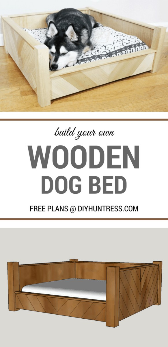 Dog Bed Attached To Human Bed : attached, human, Custom, Wooden, Huntress