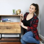 Diy Reclaimed Pallet Wood Nightstand West Elm Knockoff Diy Huntress