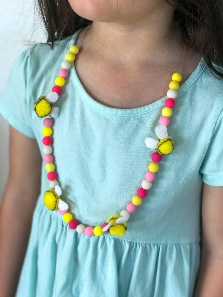 DIY Easter Necklaces
