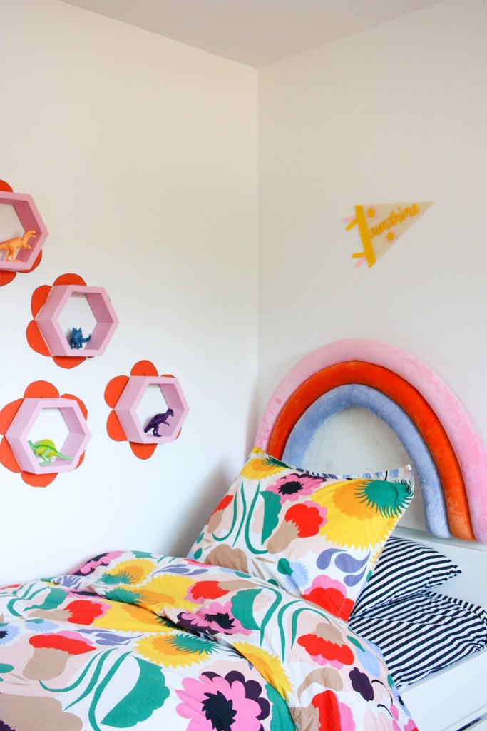 DIY Kids Shelves