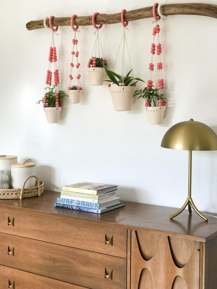 DIY Hanging Planter Display