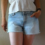 DIY Denim Cut-Offs