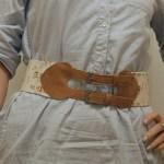 DIY Floral Waist Belt