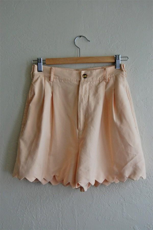 Scalloped Shorts Tutorial