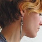 DIY Tangled Chain Earrings
