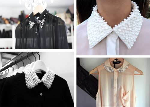 pearl collars DIY inspiration