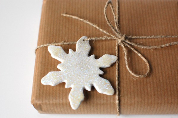 Tutorial: Clay Snowflake Ornaments and Gift Tags