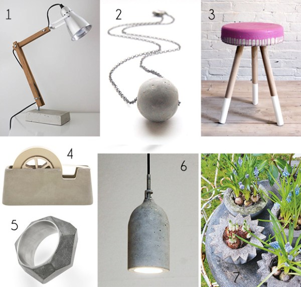 DIY Inspiration: Concrete