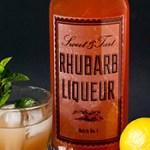 Rhubarb Liqueur Recipe