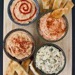 Party Idea: Hummus Flight