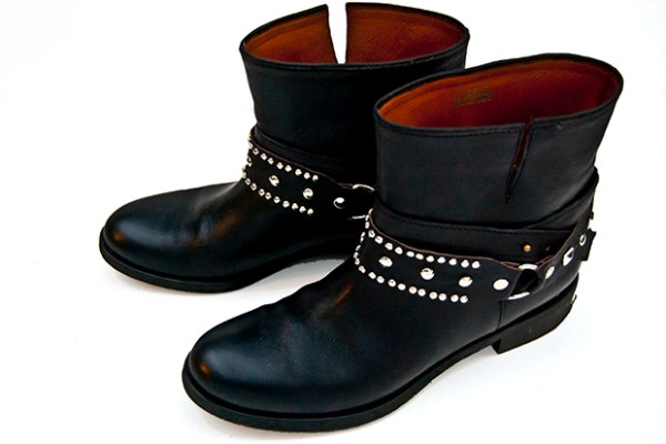 Studded Boot Straps