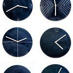 DIY Chalkboard Clock