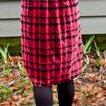 Plaid Skirt Makeover