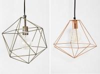 DIY Inspiration: Geometric Lights - DIY in PDX