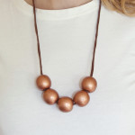 Make a Copper Bead Necklace