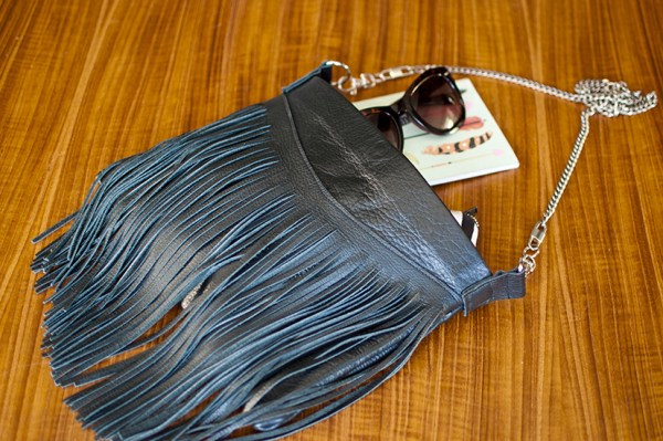 How to Make a Fringed Leather Bag