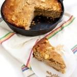 Rustic Skillet Apple Cake