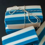 DIY Striped Soap